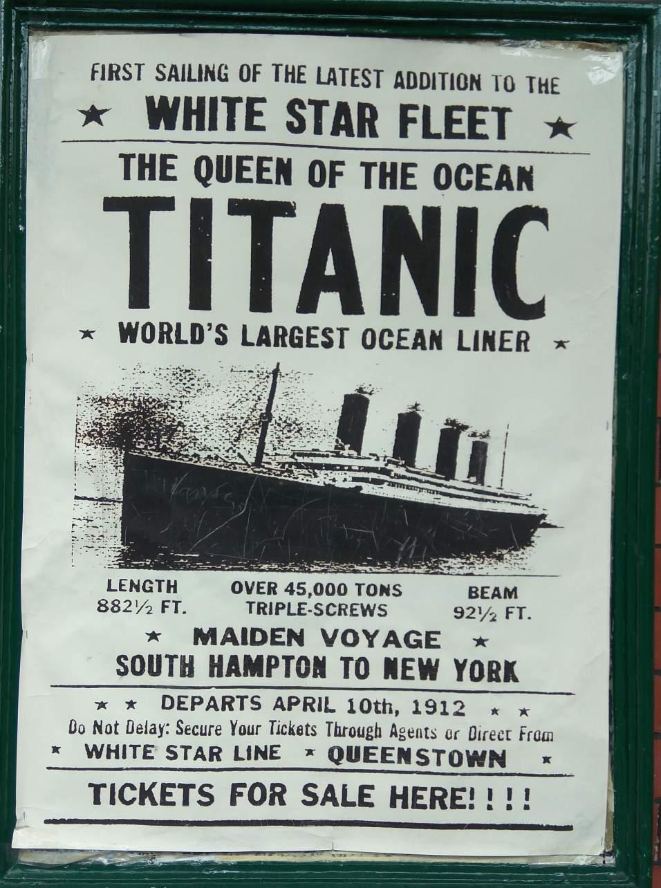 Titanic Engine Room Underwater: Romancing The Titanic: A Visit To The Gigantic Museum In