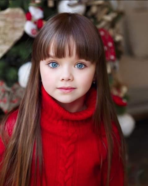 Russian models kids