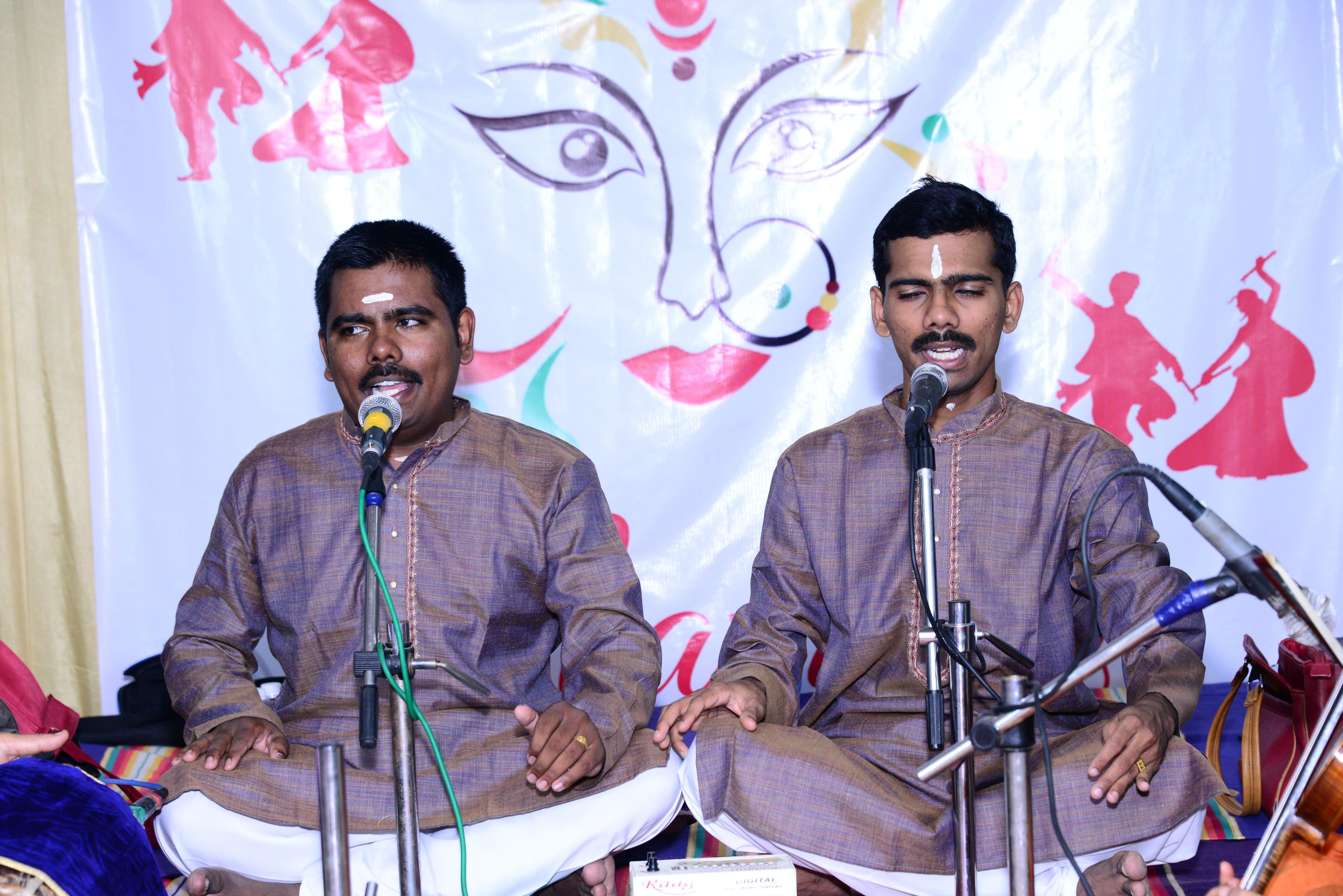 Ajeesh and Aneesh Menon