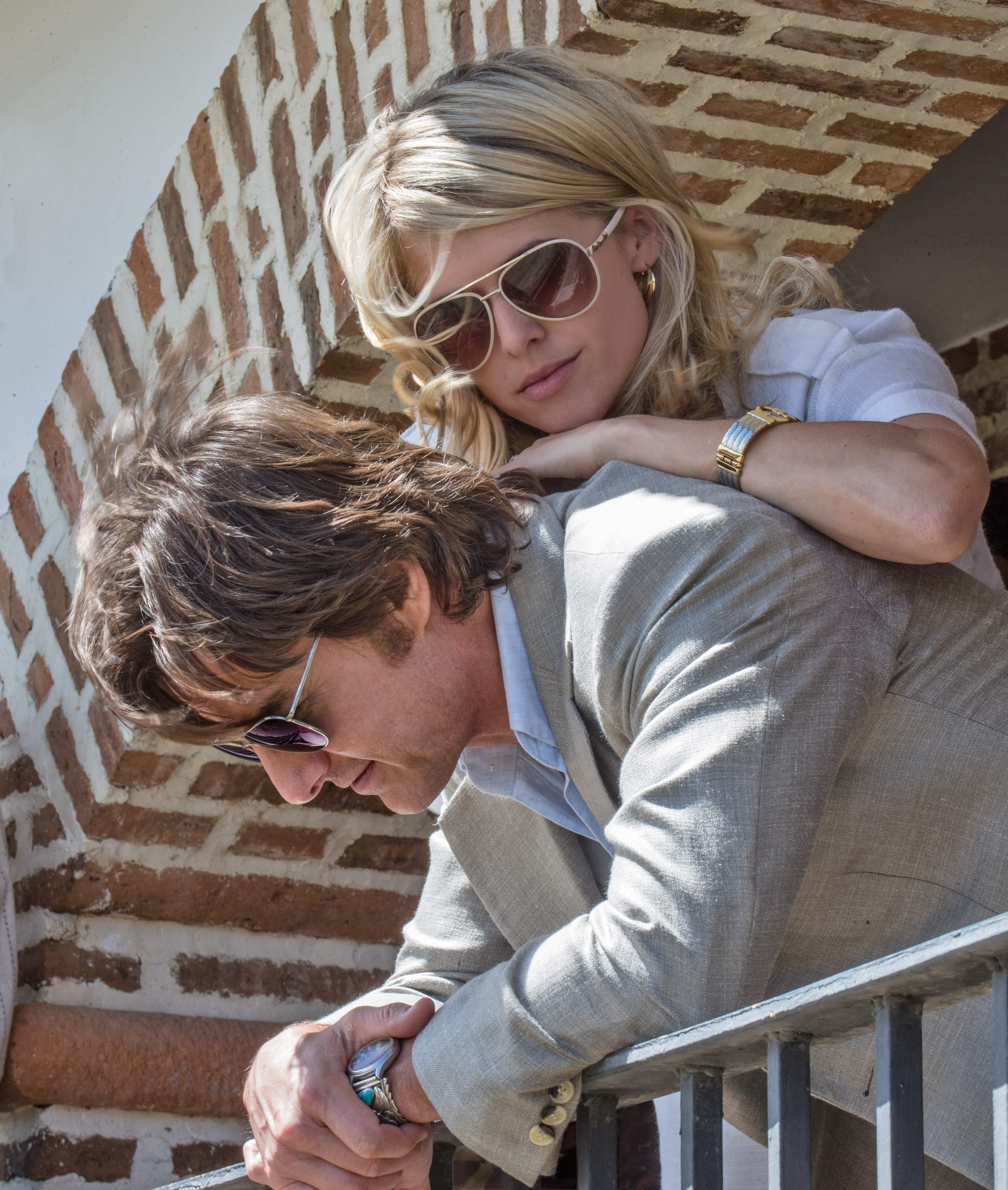 Sarah Wright and Tom Cruise