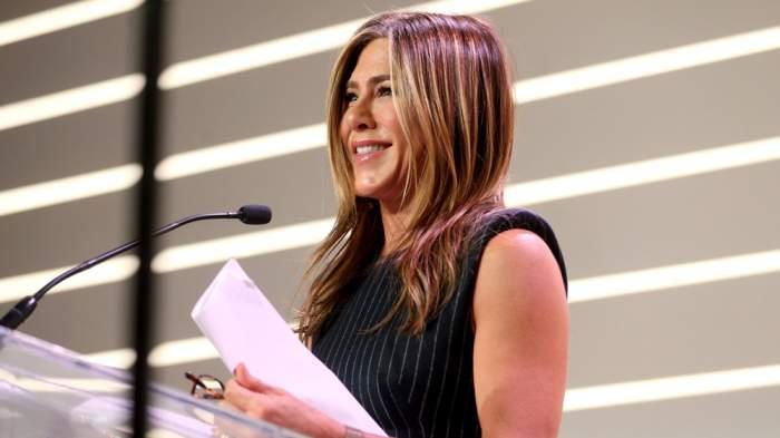 Jennifer Aniston at Variety's Power of Women Luncheon