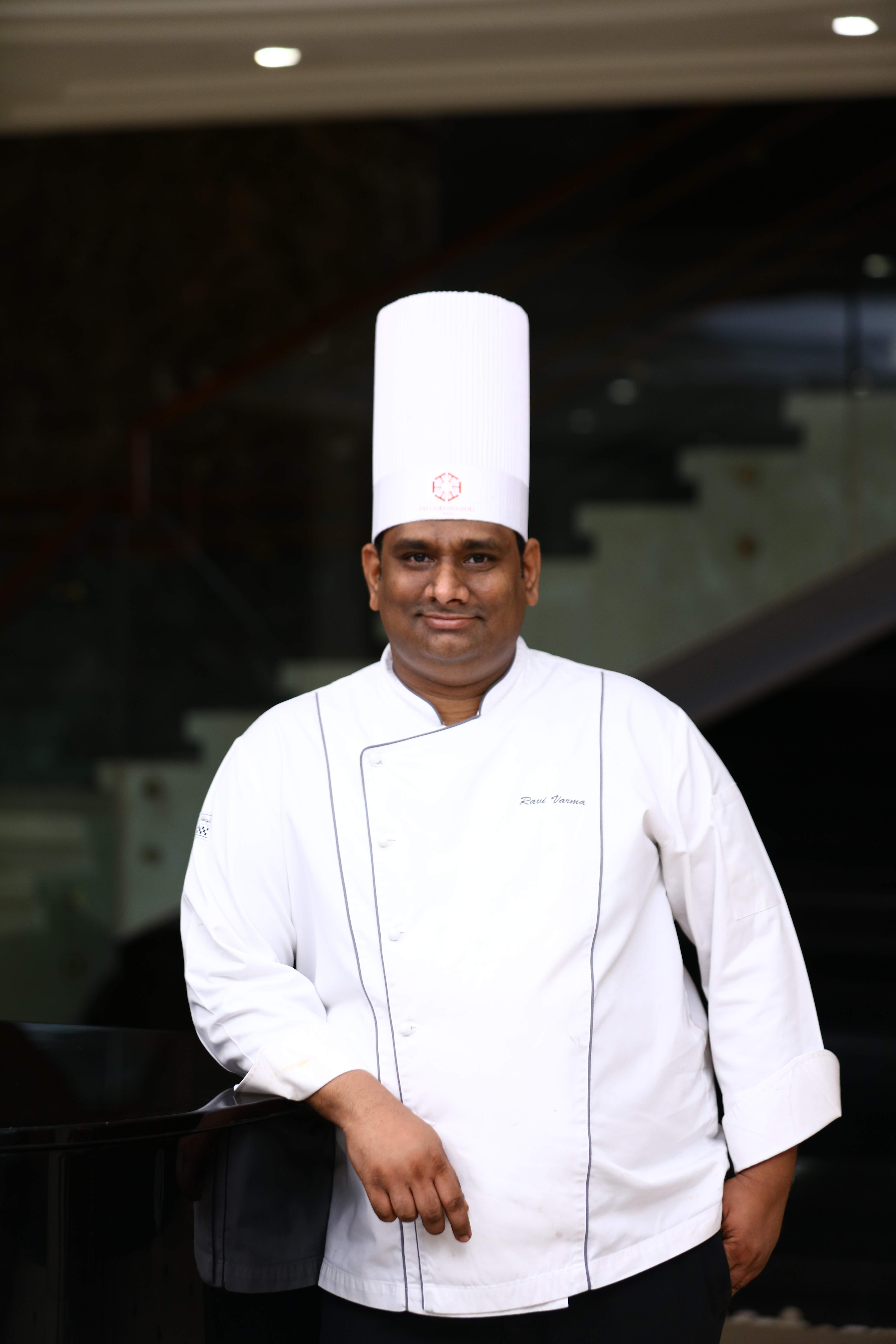 Ravi Varma, Pastry chef,La Patisserie, Taj Coromandel