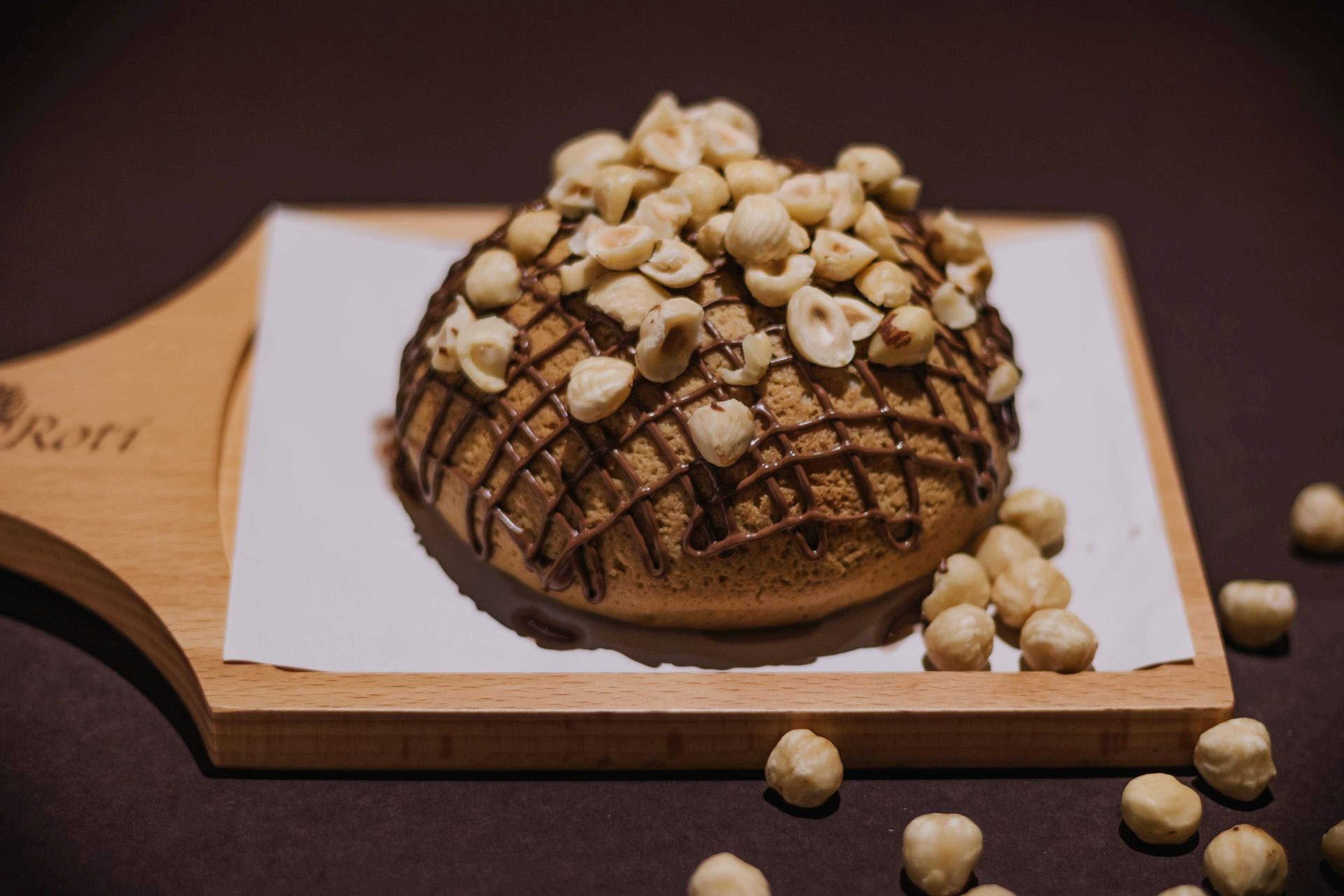 Nutella with Hazelnut bun