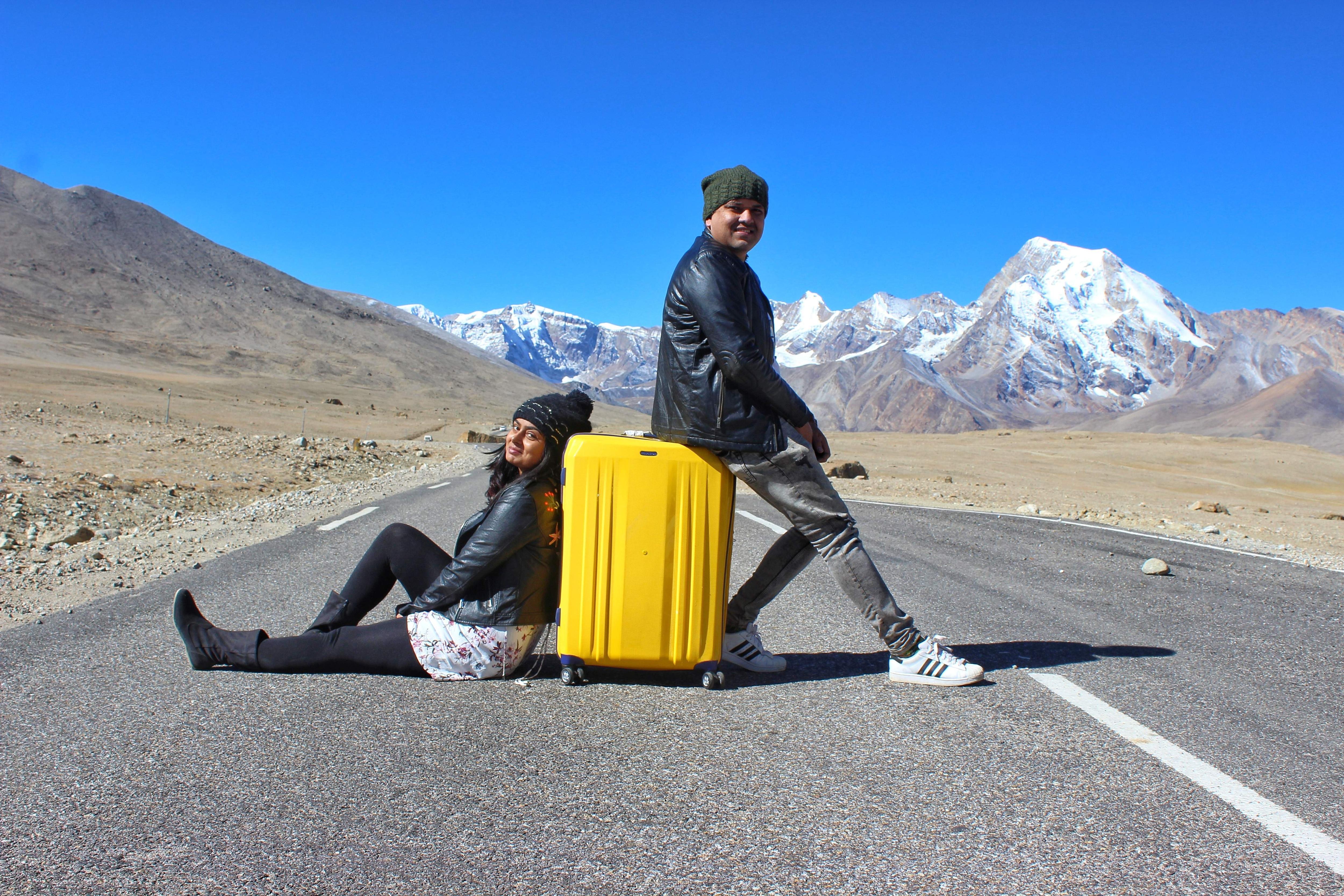 Esha and Vikash in Sikkim