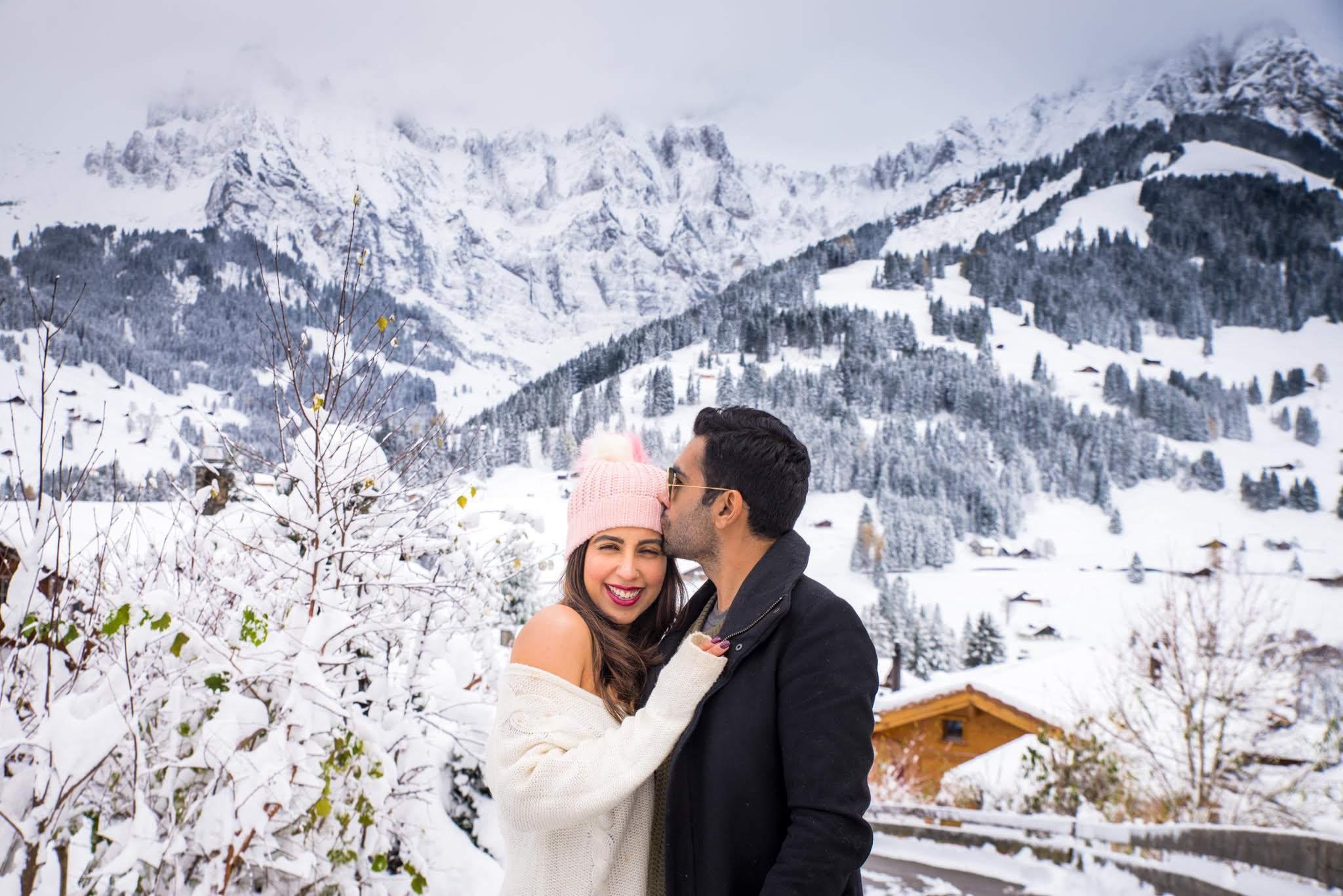 Savi and Vid in Switzerland
