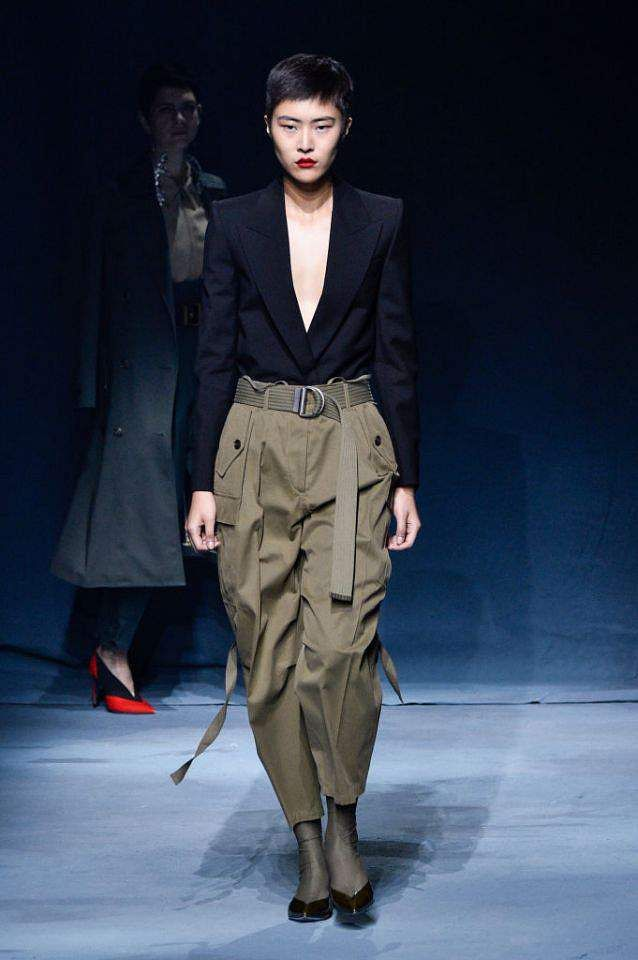 Givenchy's high waisted cargos