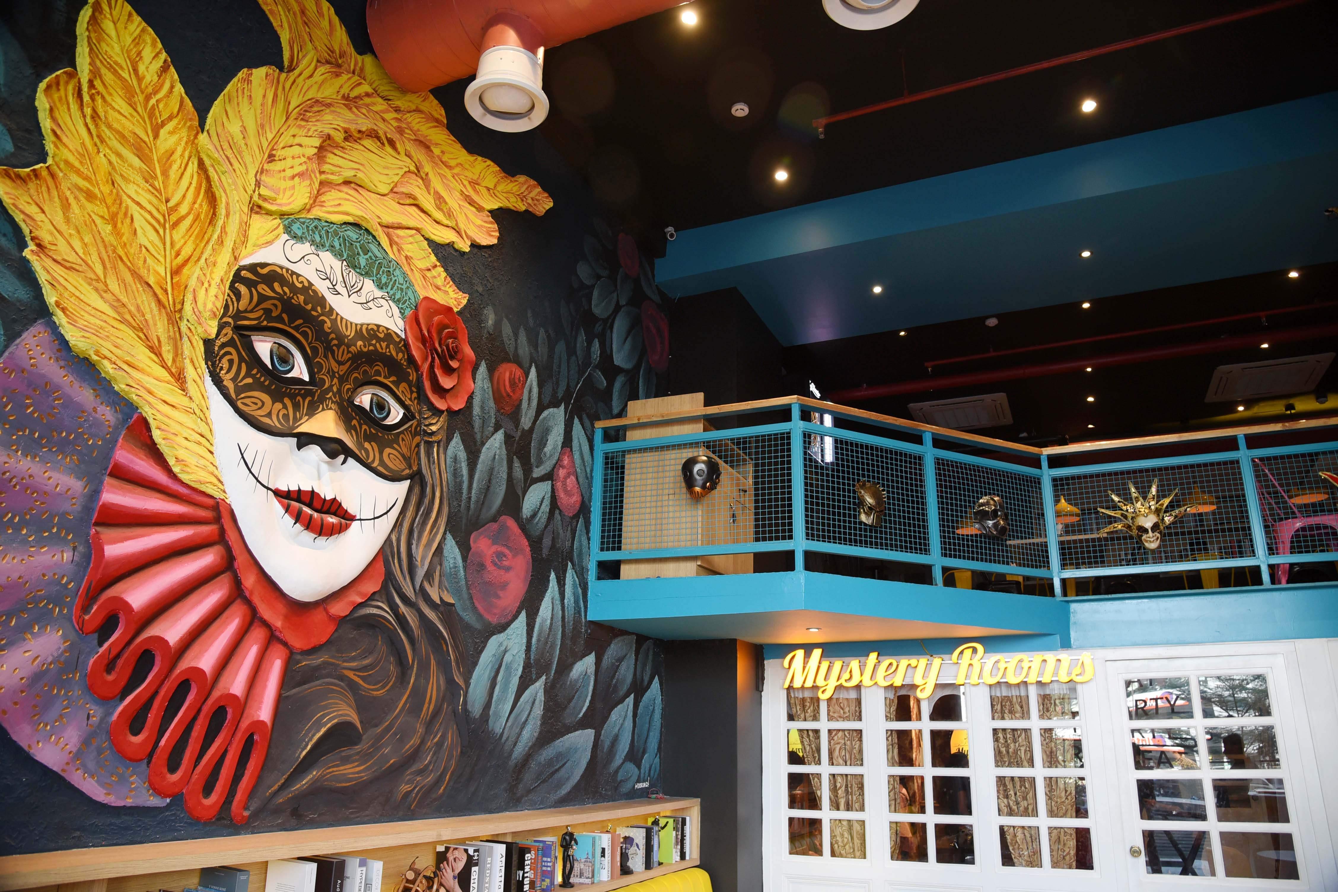 masquerade theme restaurant