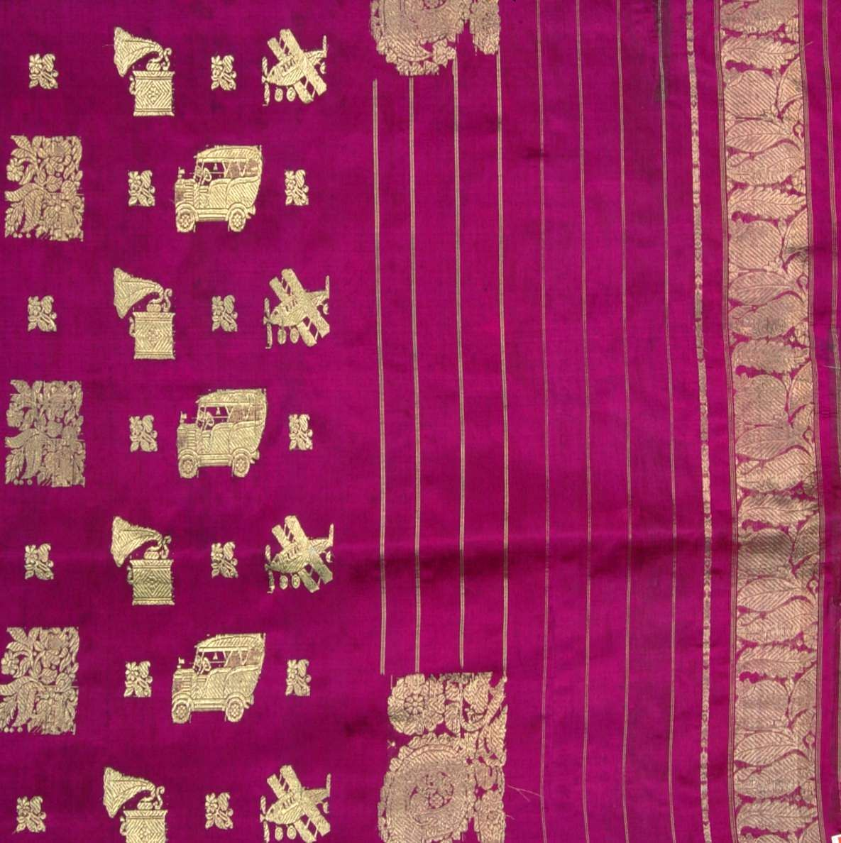 The Sari with 20th Century Motifs