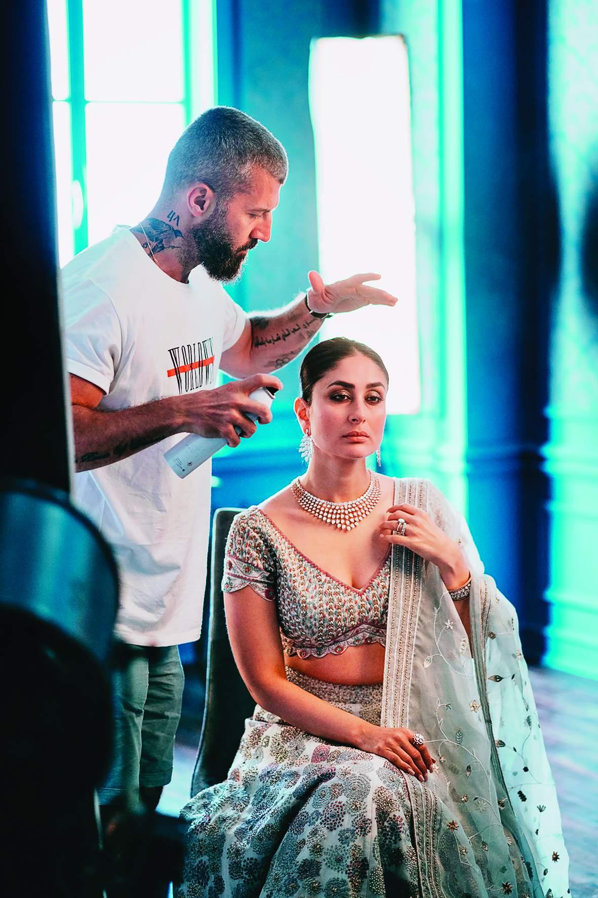 Yianni Tsapatori with Kareena Kapoor