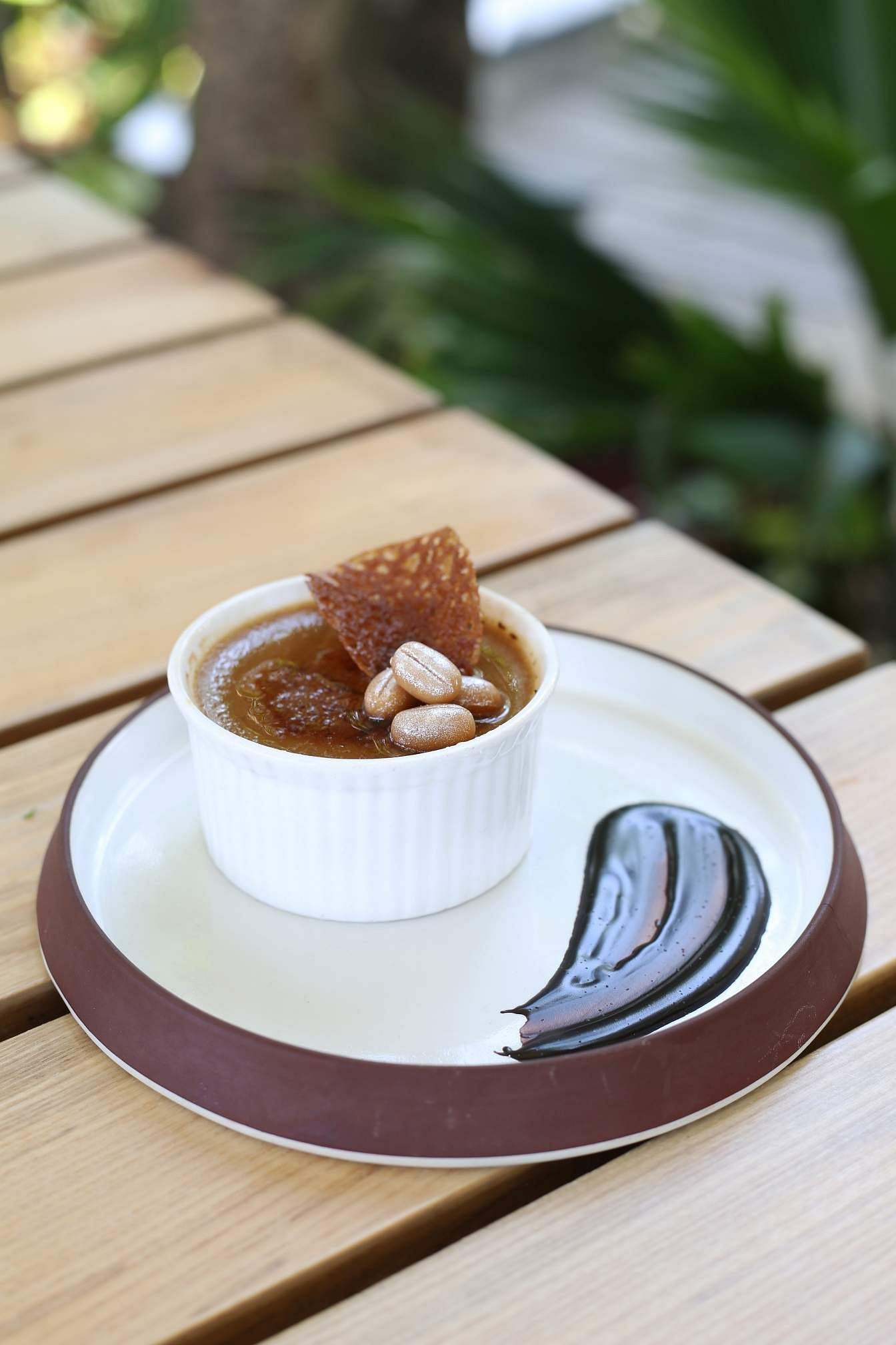 Filter Coffee Creme Brulee