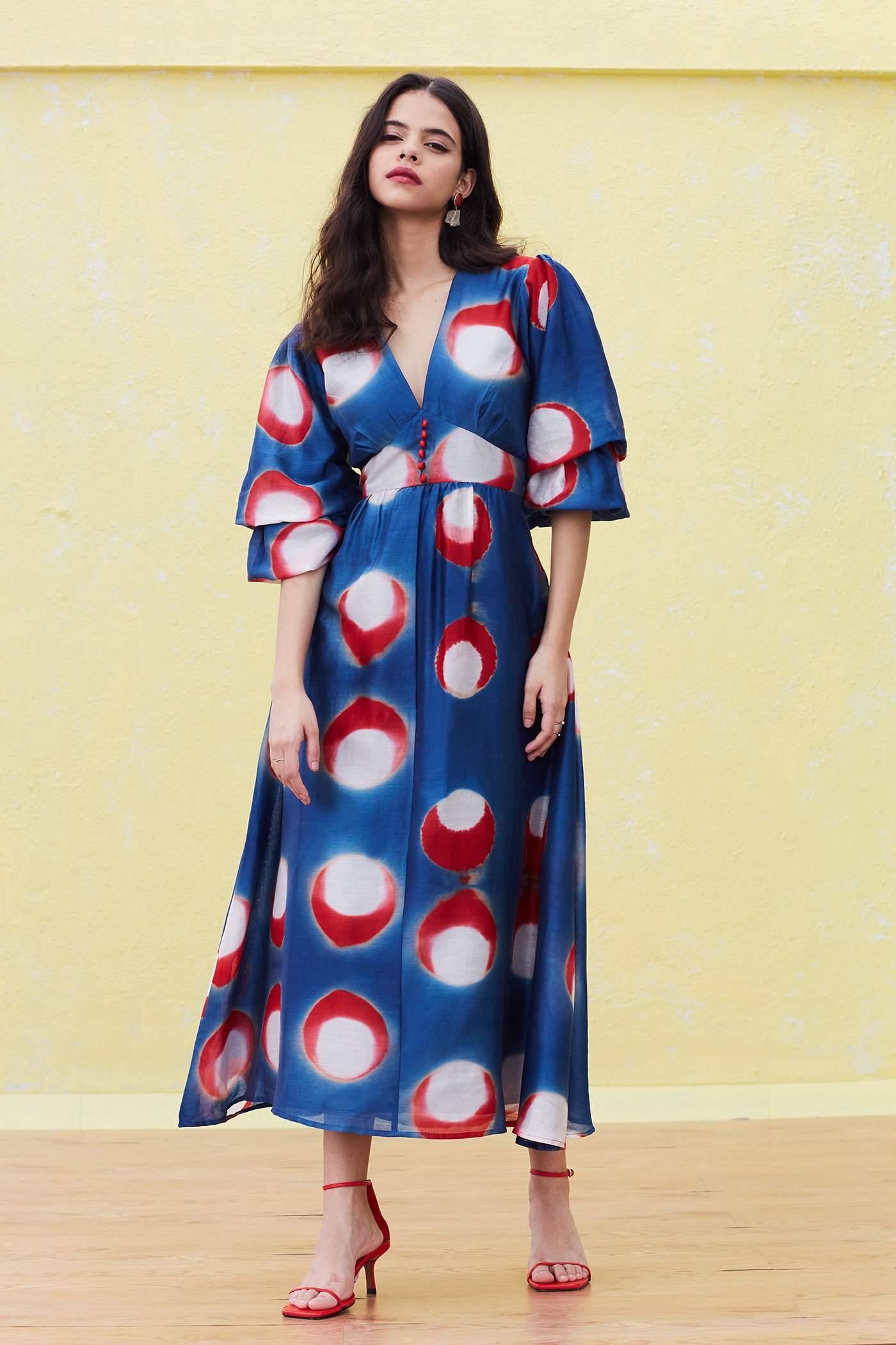 Aizome dress