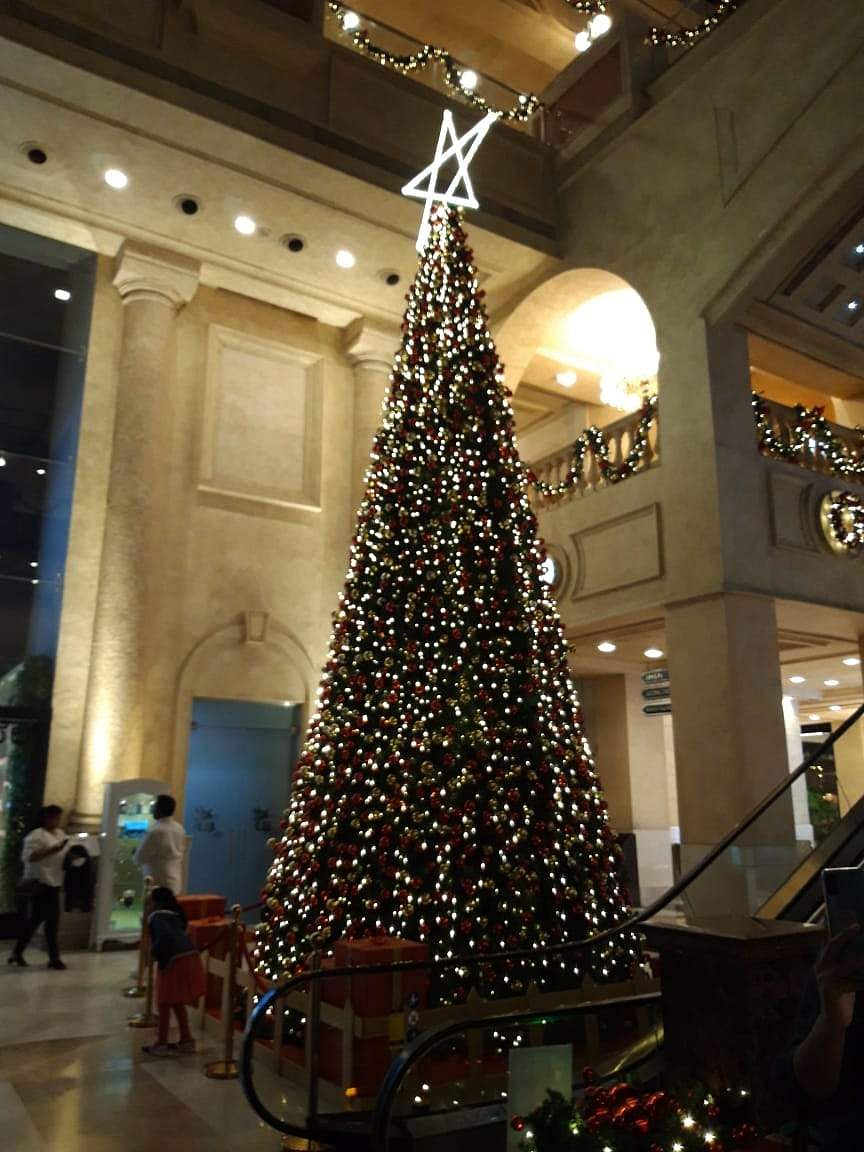 Christmas Tree at UB City