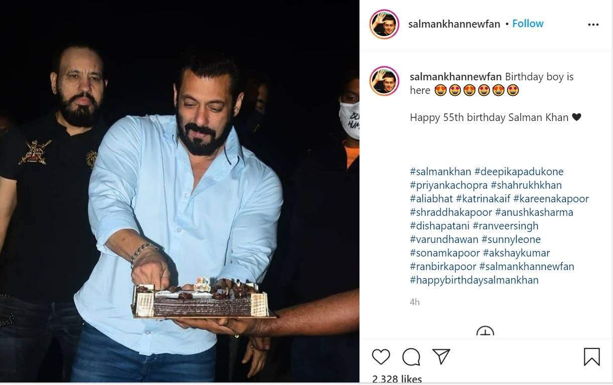 Salman Khan birthday celebration