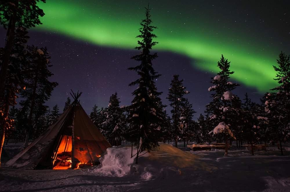 Northern Lights. Pic: Lola Akinmade Akerström