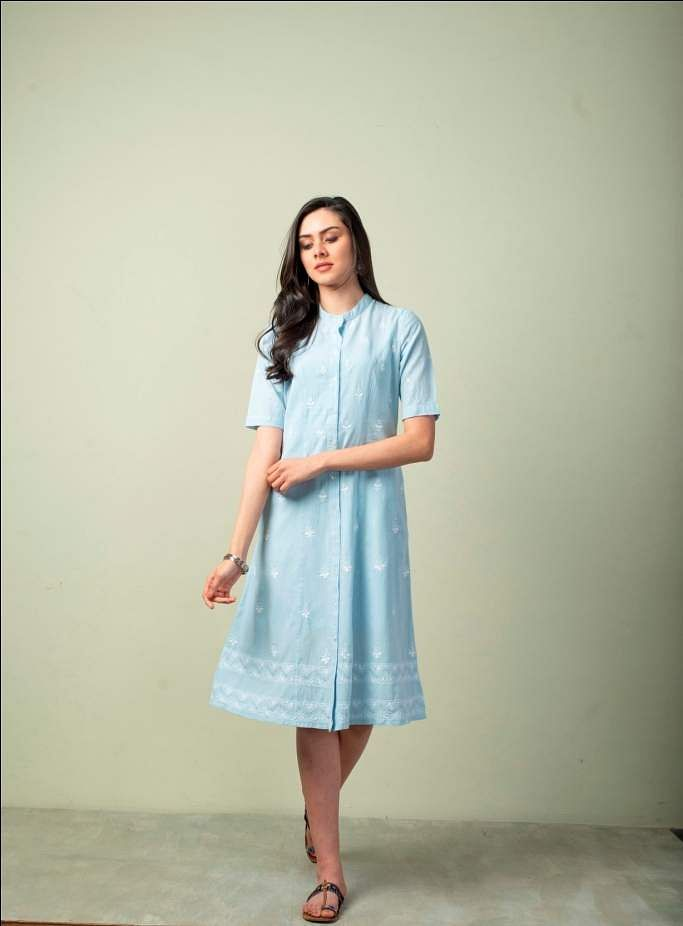 A dress from the collection