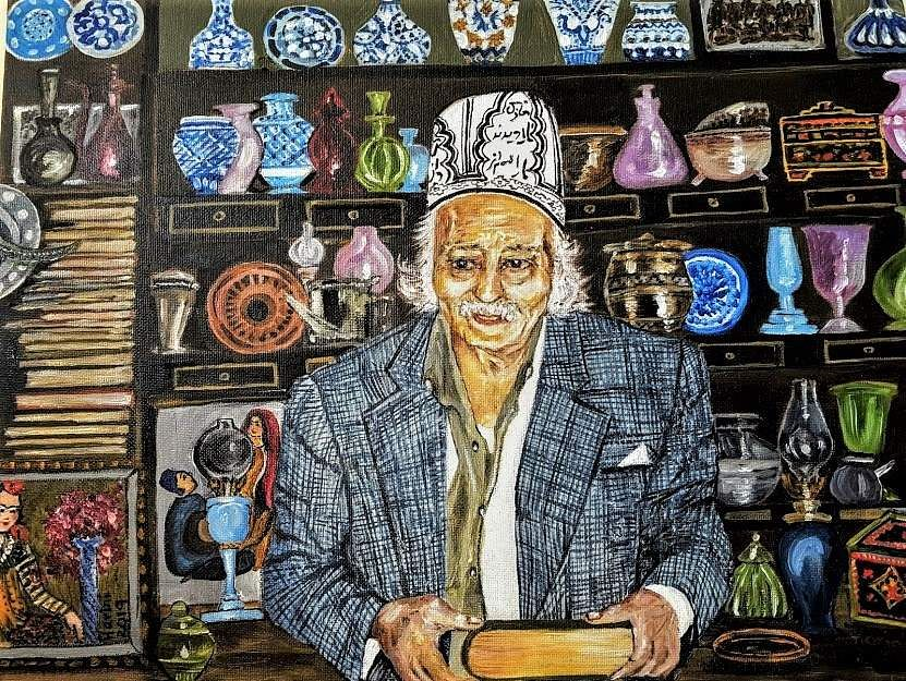The Antiques Dealer in Isfahan, Iran by Dr Harini Narayan