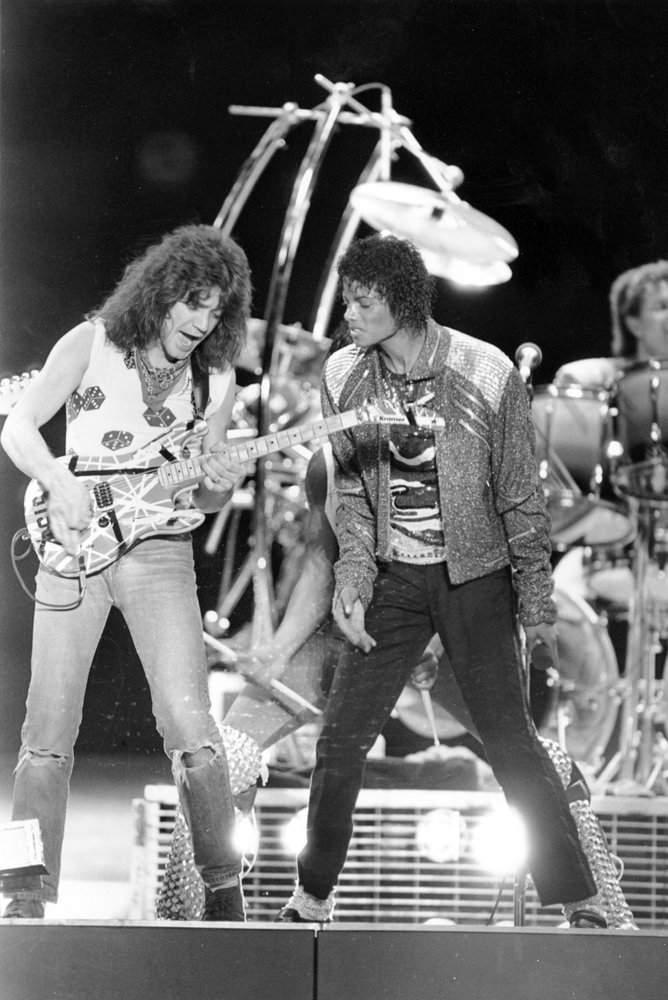 Eddie with Michael Jackson