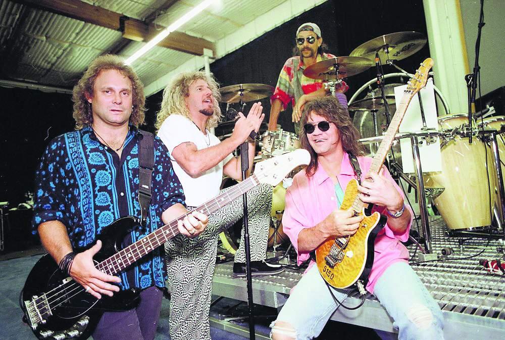 Members of Van Halen