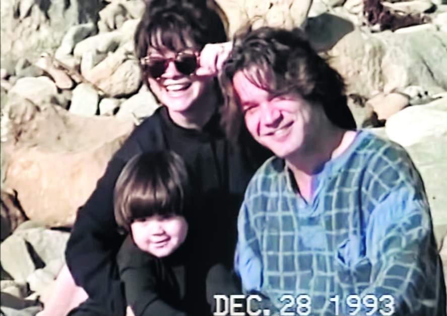 Wolfgang with Valerie Bertinelli and Eddie Van Halen