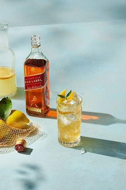 Holi special: Johnnie Walker with citrus fruits