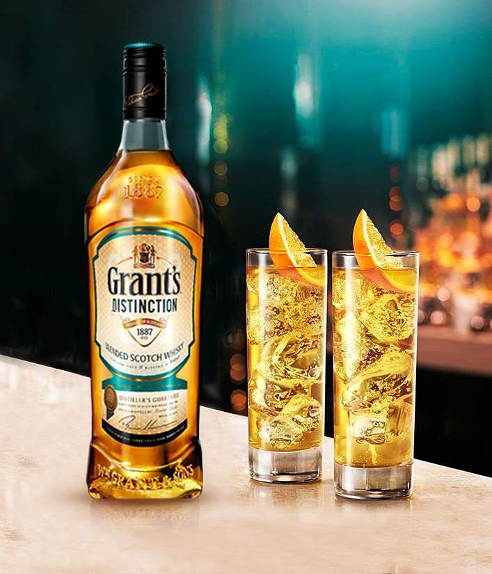 Holi special: Grant's and ginger cocktail