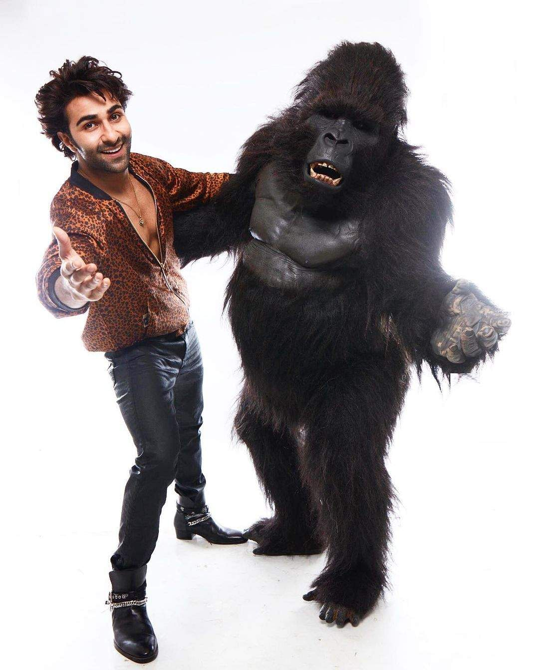 Aadar Jain stars in a new comedy, co-starring a gorilla