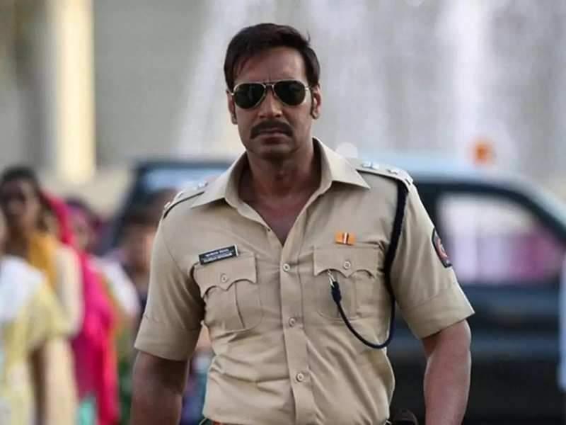 Still from Singham starring Ajay Devgn