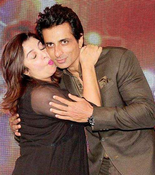 Sonu Sood with Farah Khan