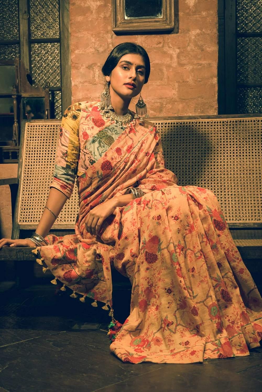 Kasturi Kundal's summer sari edit