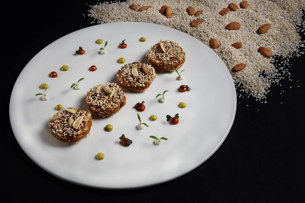 Almond Amarnath Kebab
