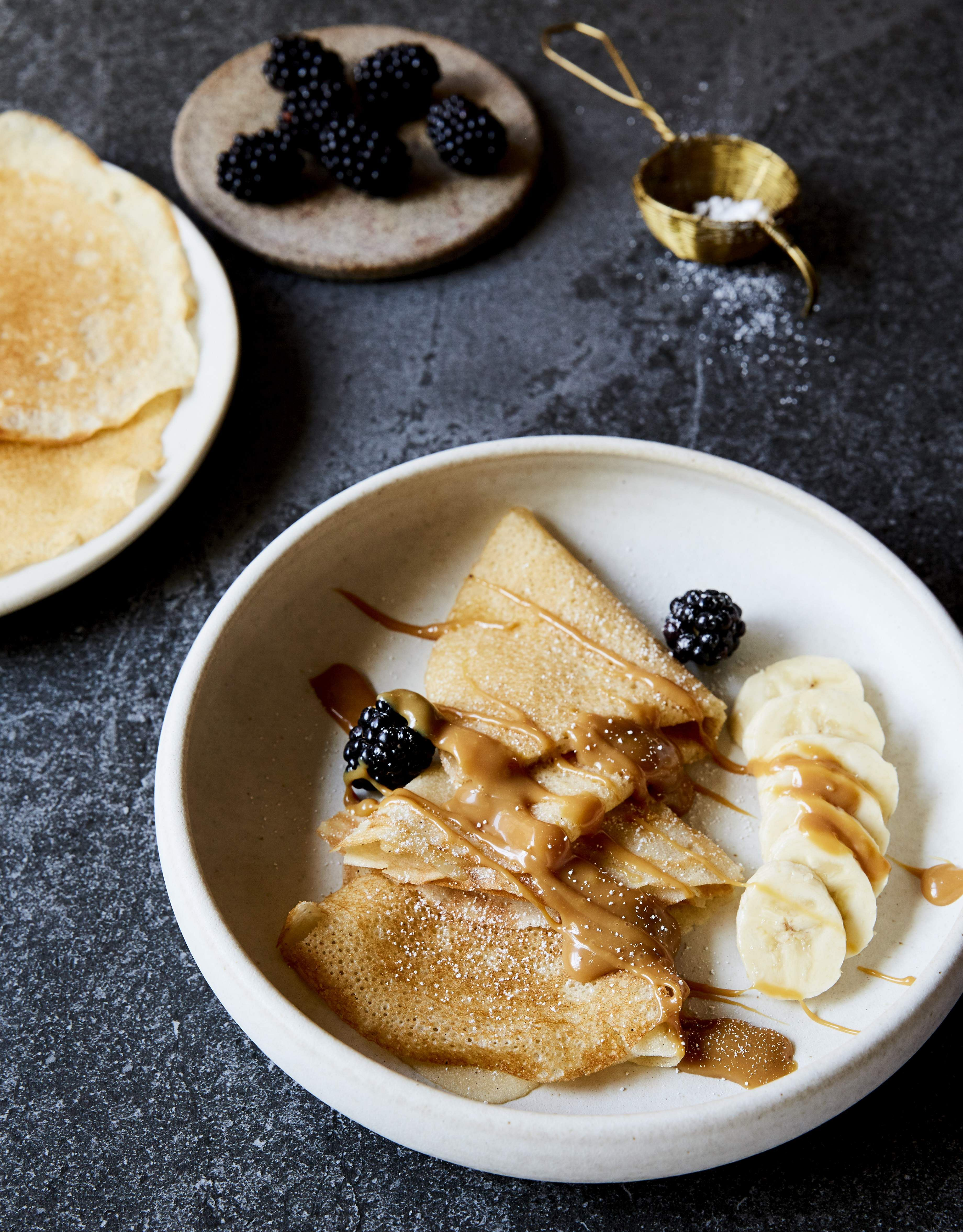 Coconut Crepes by Sarah Todd
