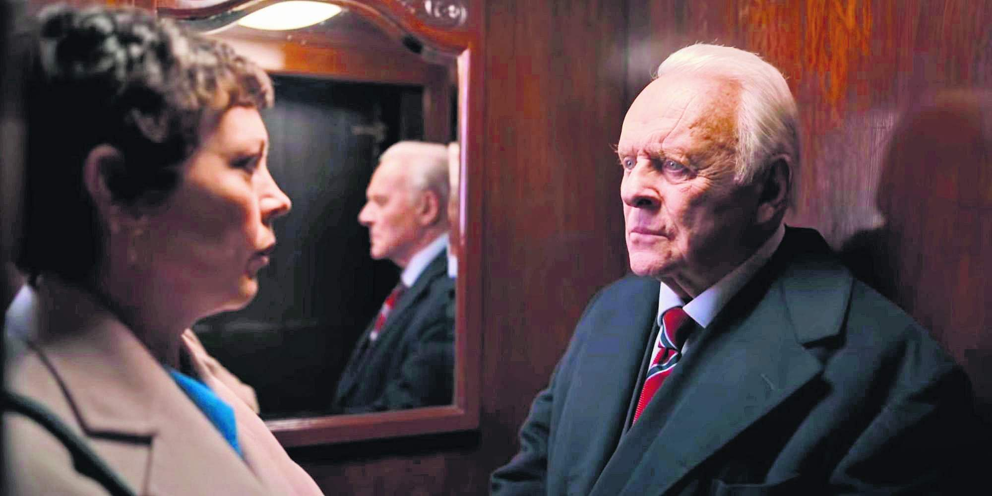 A still from The Father starring Anthony Hopkins