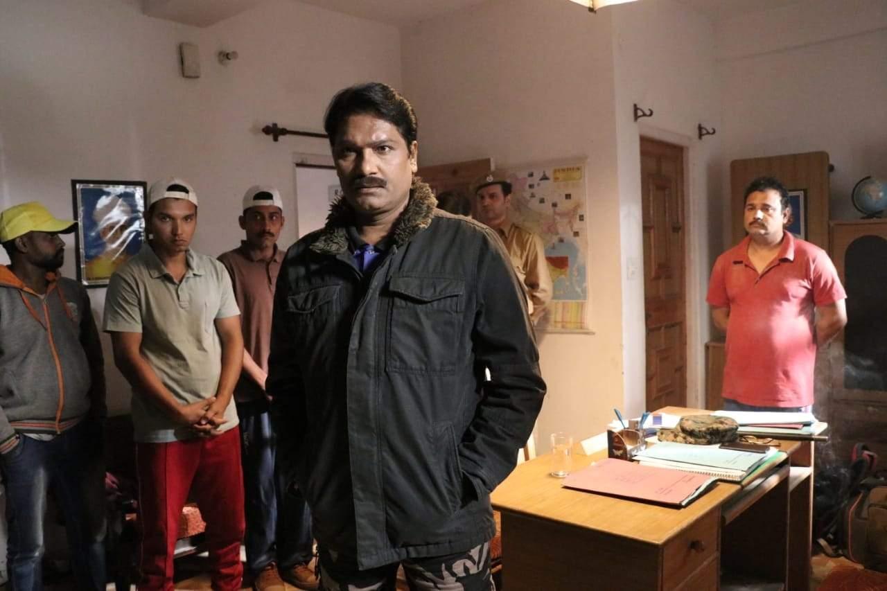 A still from the movie Van Rakshak