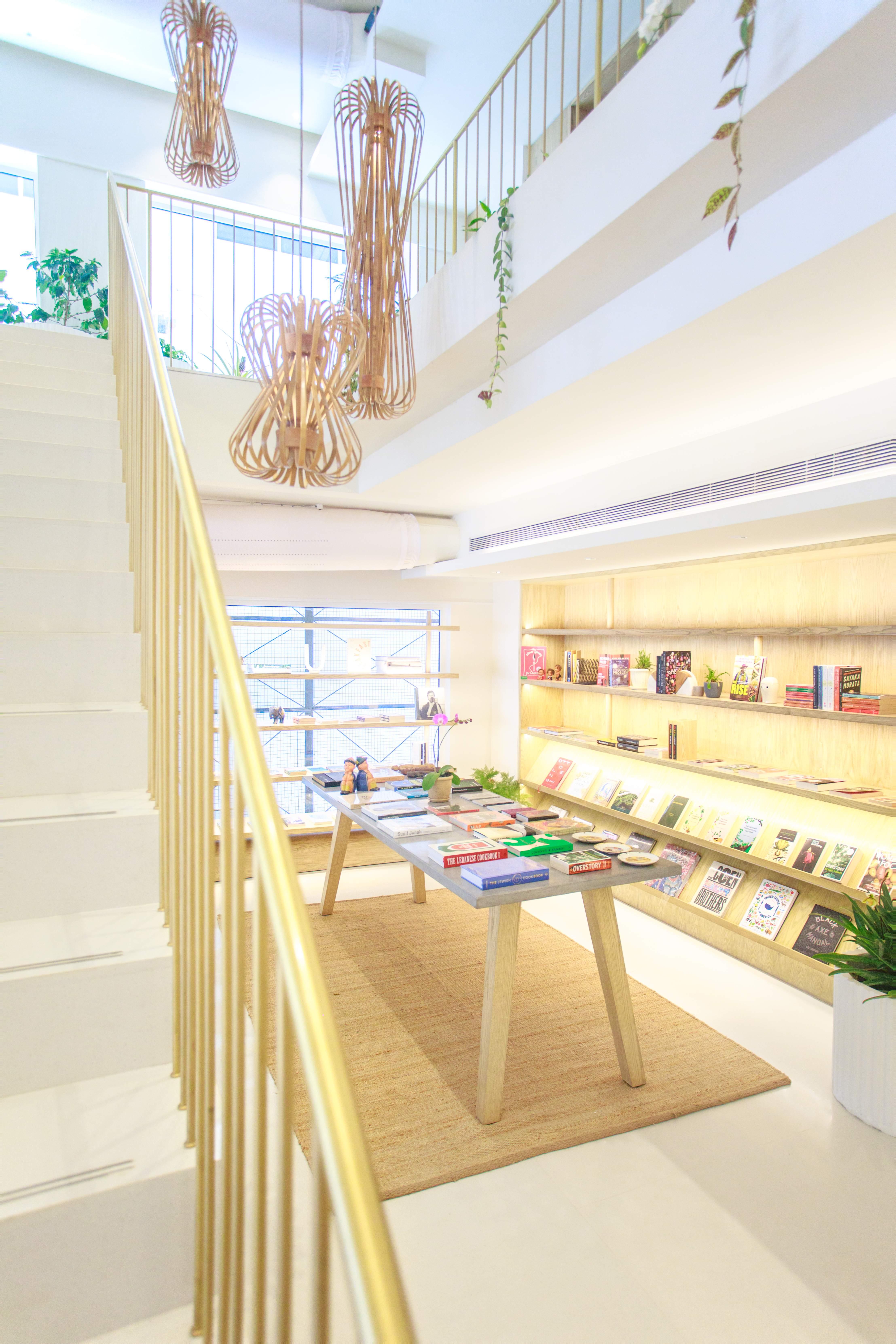 The library in Araku Coffee