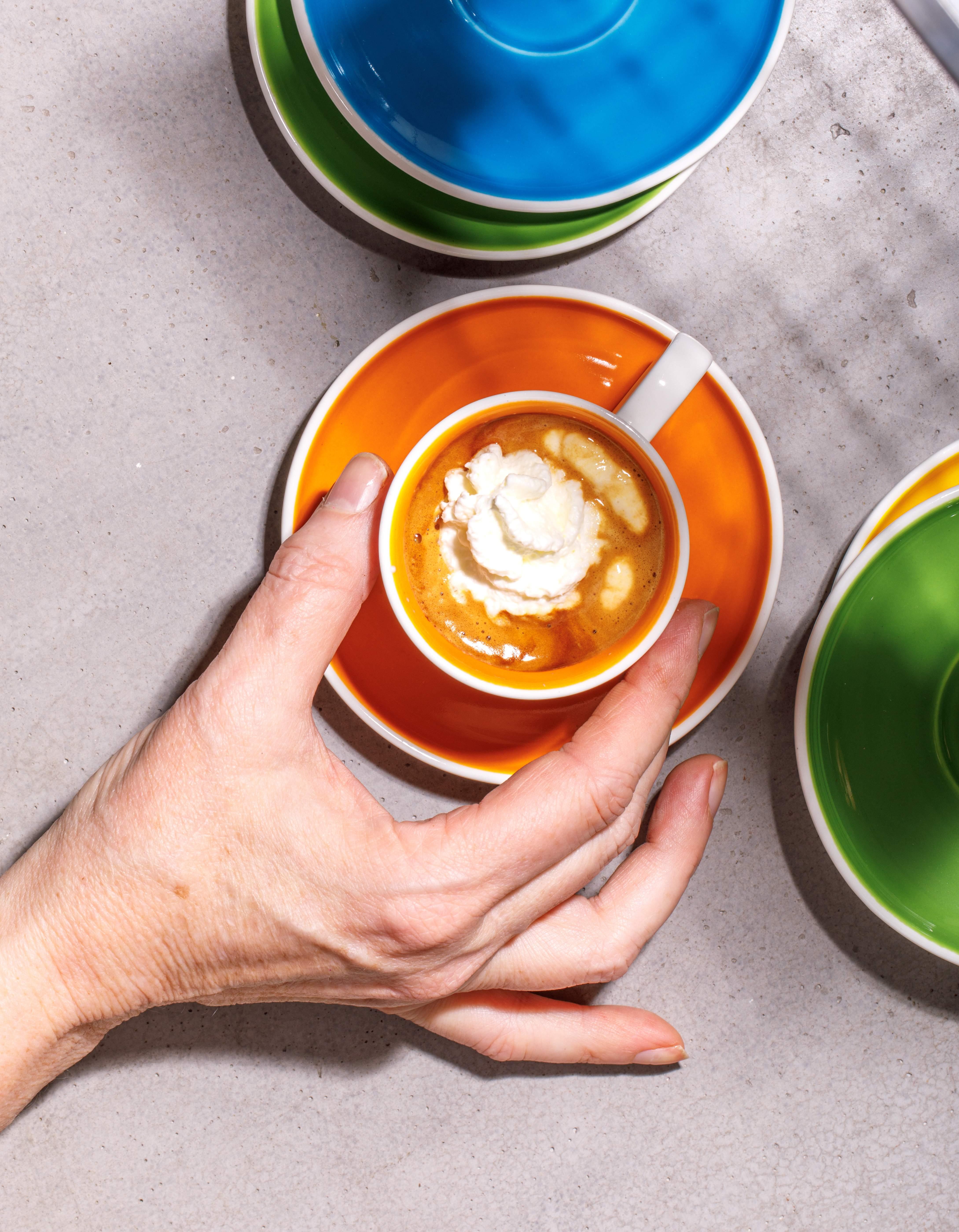 Espresso Con Panna from the Araku Coffee menu