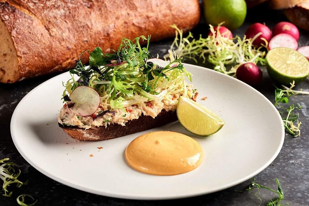 Cornish Crab on Toast