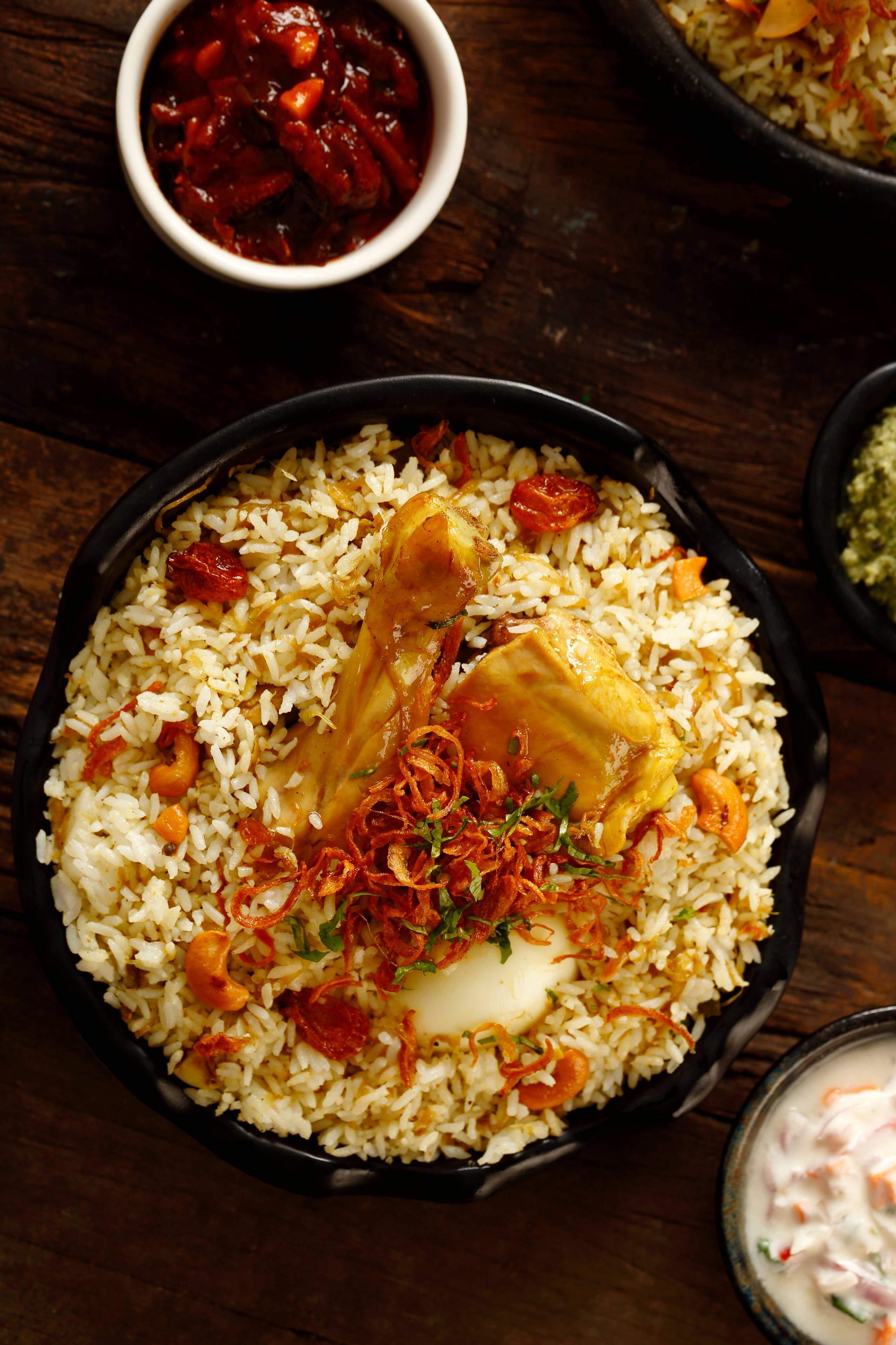 Eid special: Dum Bir biryani
