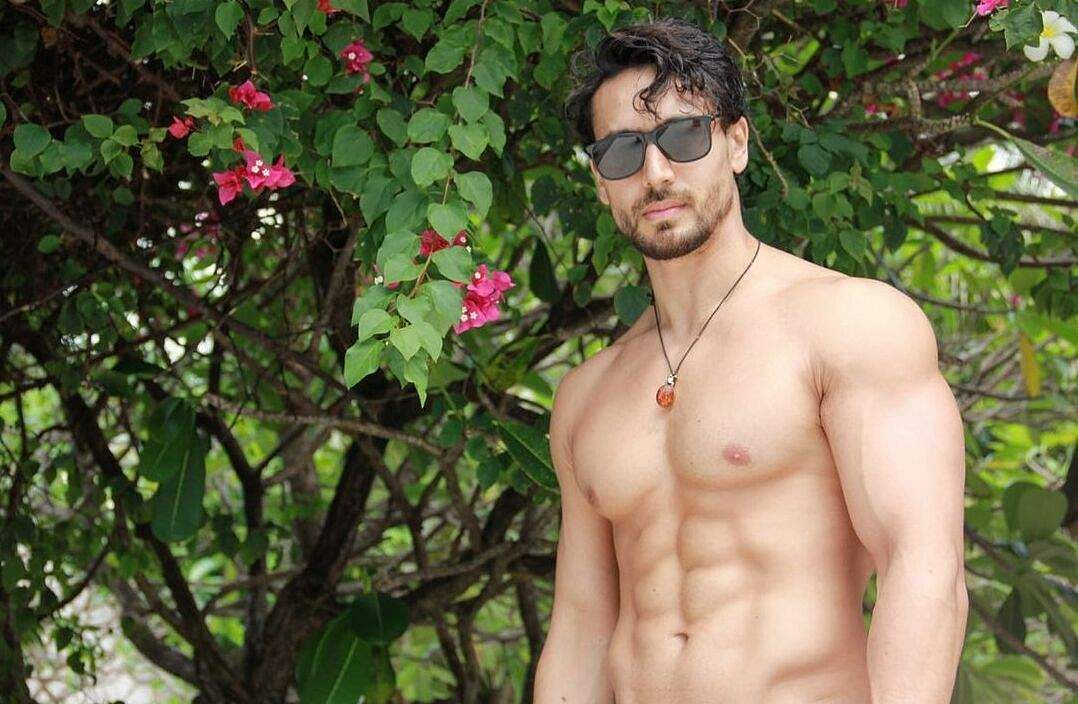 Tiger Shroff's six pack abs