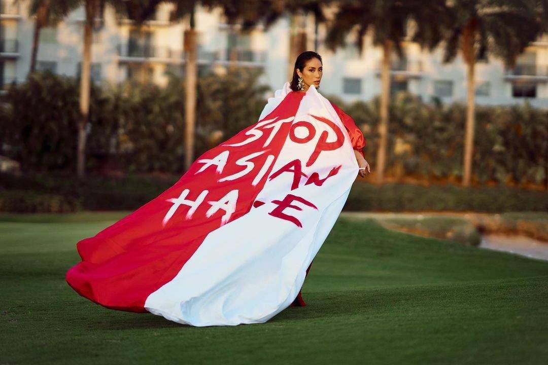 Miss Universe Singapore contestantBernadette Belle Wu Ong