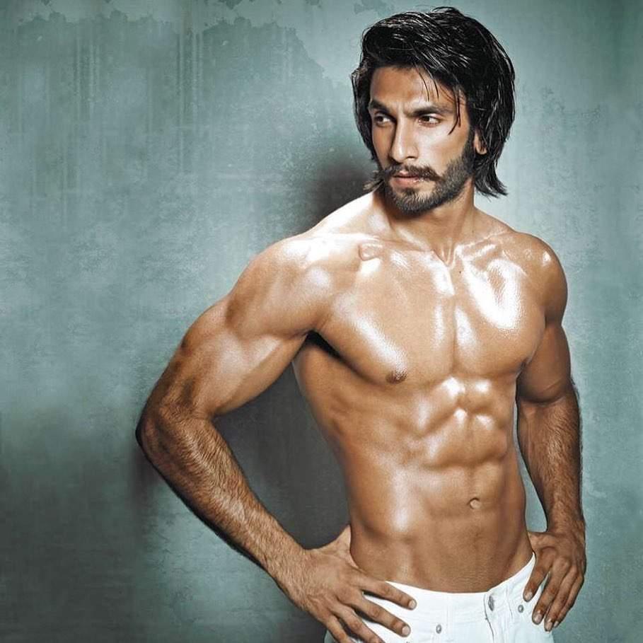 Ranveer Singh's six pack abs