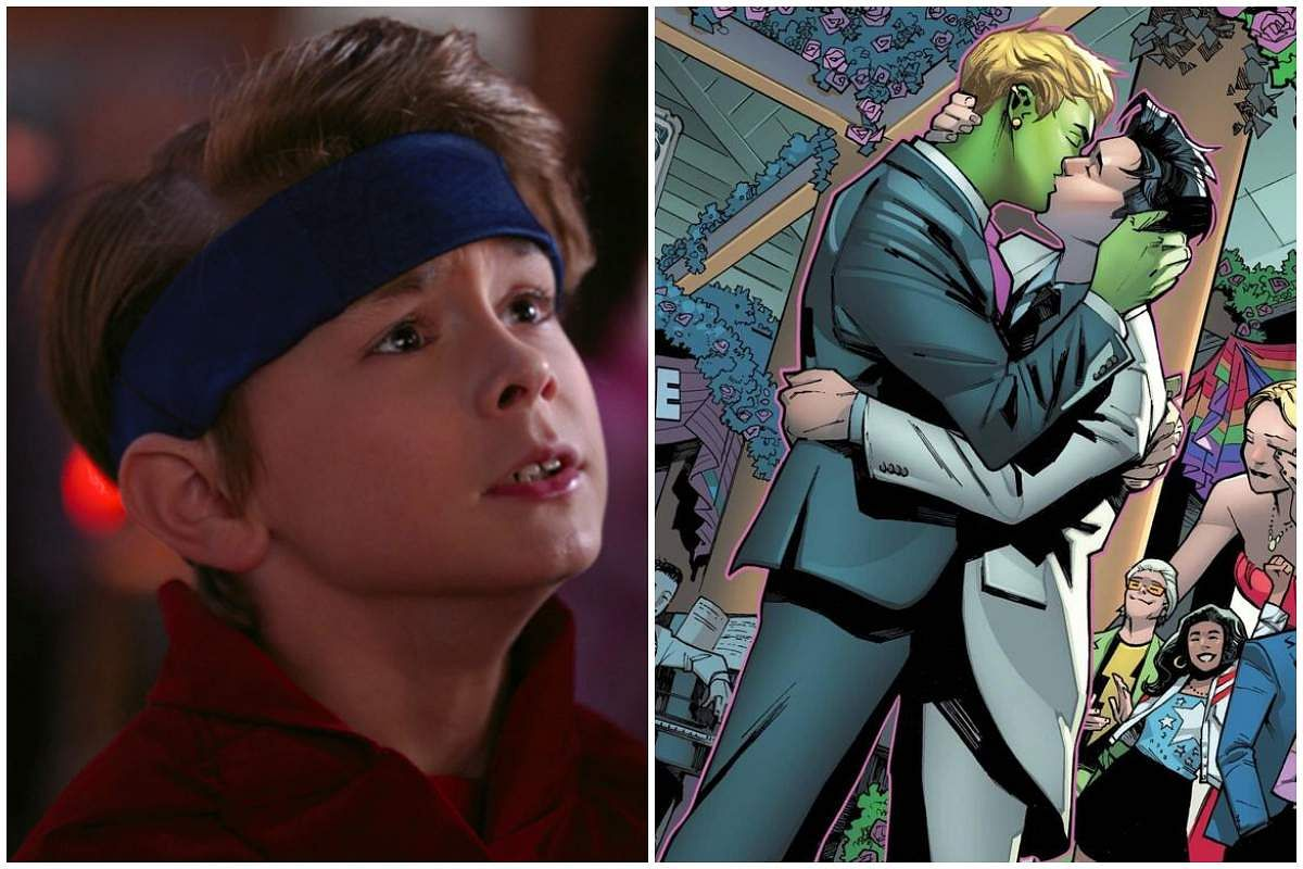 Gay superhero Billy/Wiccan in WandaVision