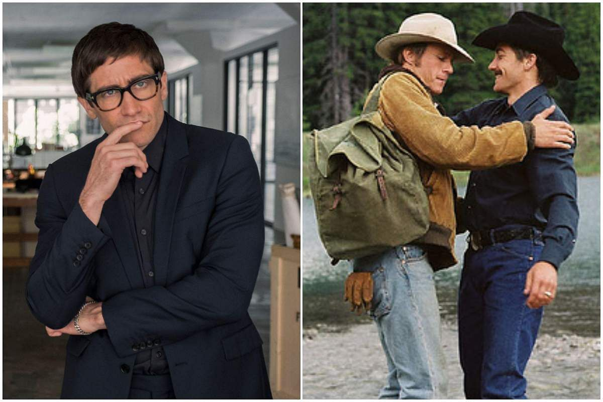 Stills from Velvet Buzzsaw and Brokeback Mountain featuring LGBTQ content