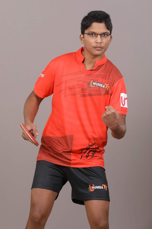 Table tennis player Jeet Chandra