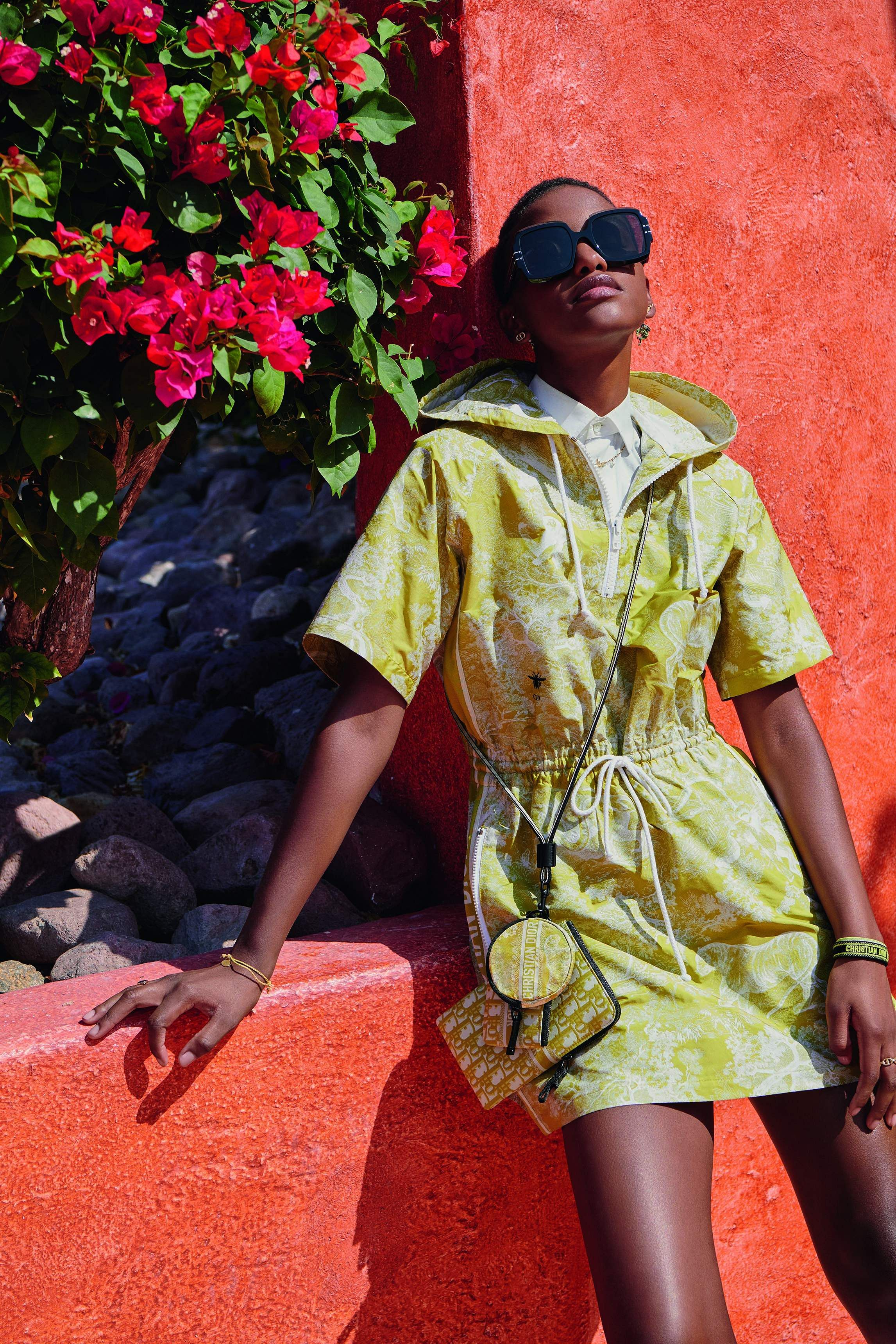 Looks from the Dioriviera summer capsule collection