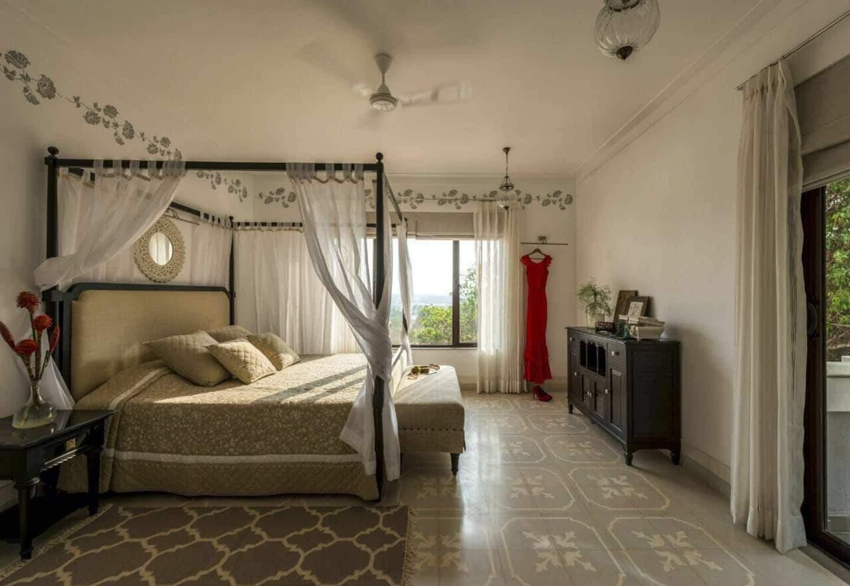 View from the Serene Sol bedroom of Shekhar Ravjiani in Goa