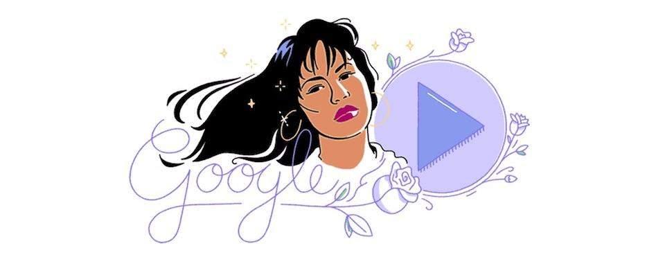 Selena's Google Doodle