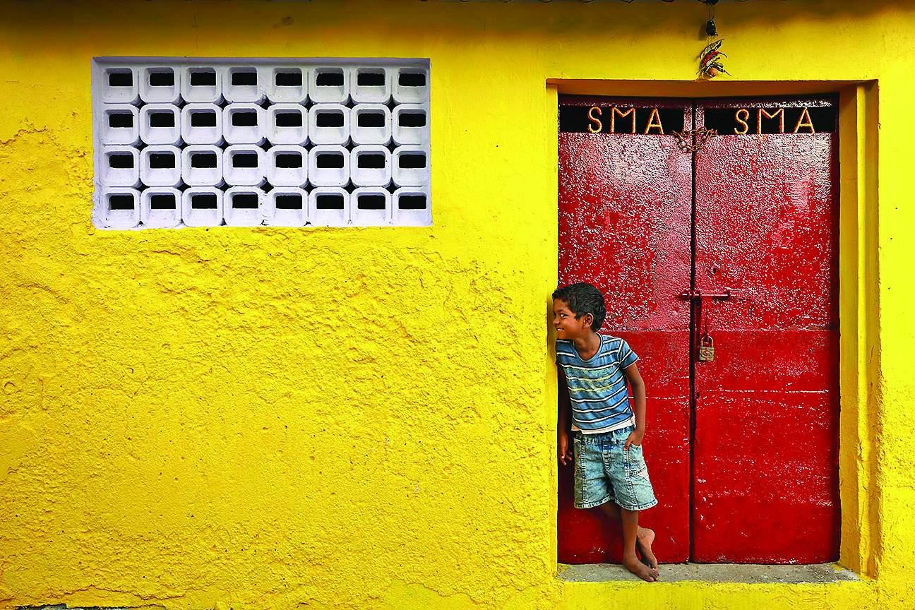 A street shot by Udayan Sankar Pal