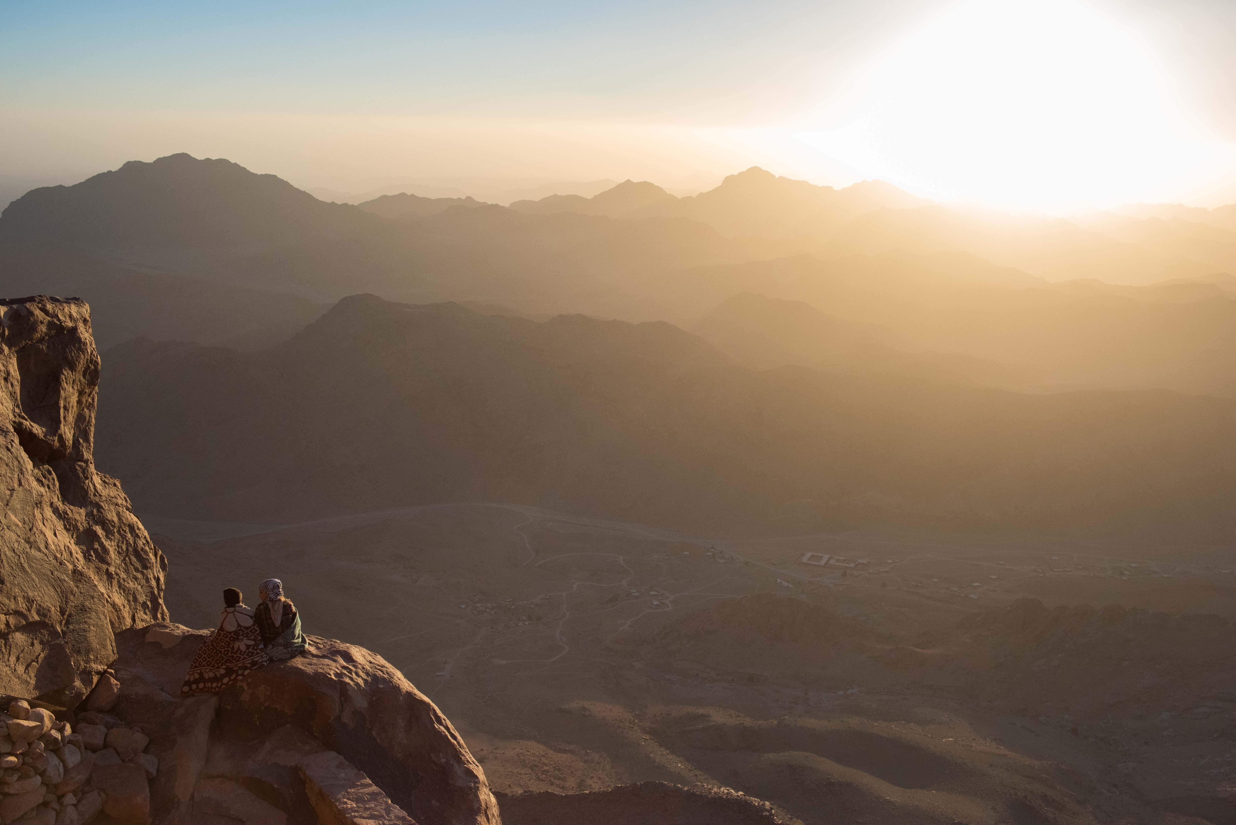 Sunrise on Mount Sinai, Egypt