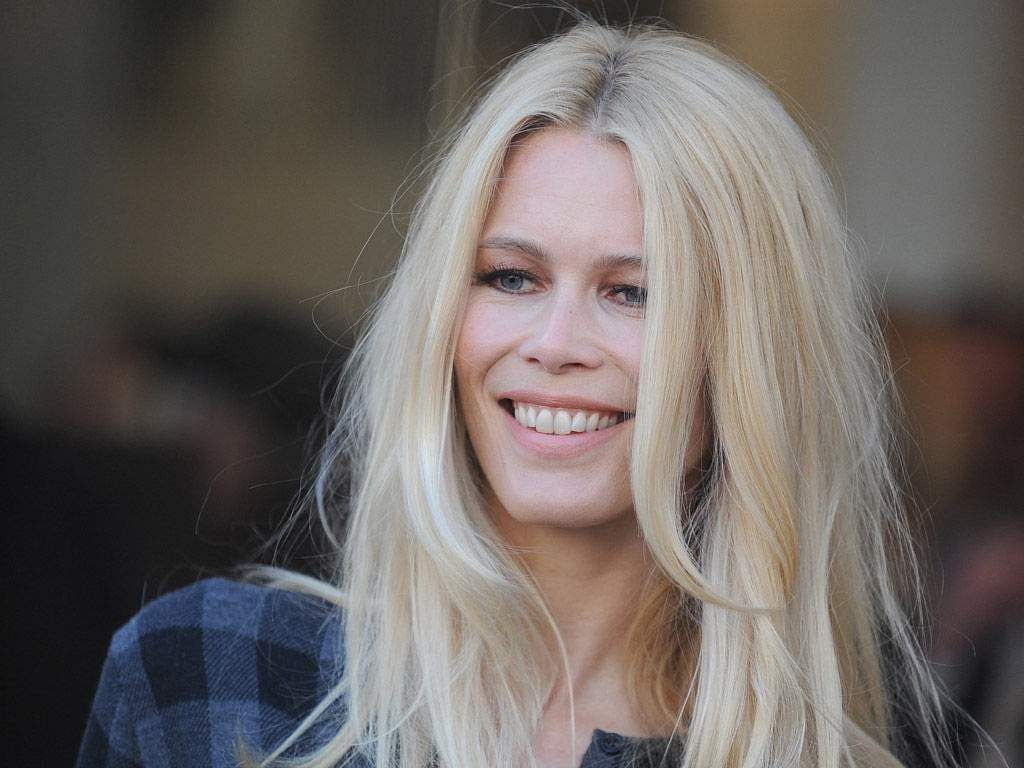 Moments In Fashion Not Real Life Claudia Schiffer