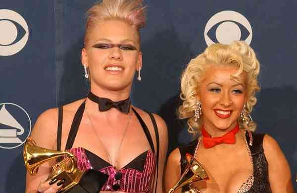 Pink and Aguilera